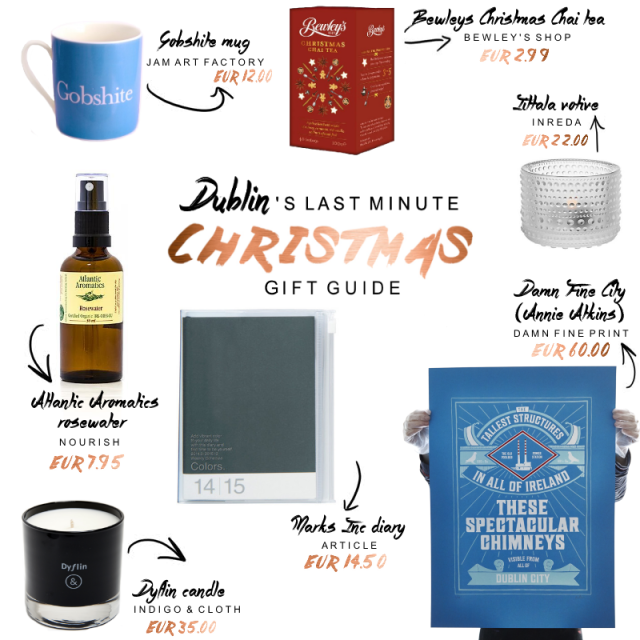 christmas gift guide dublin 2014 with prices