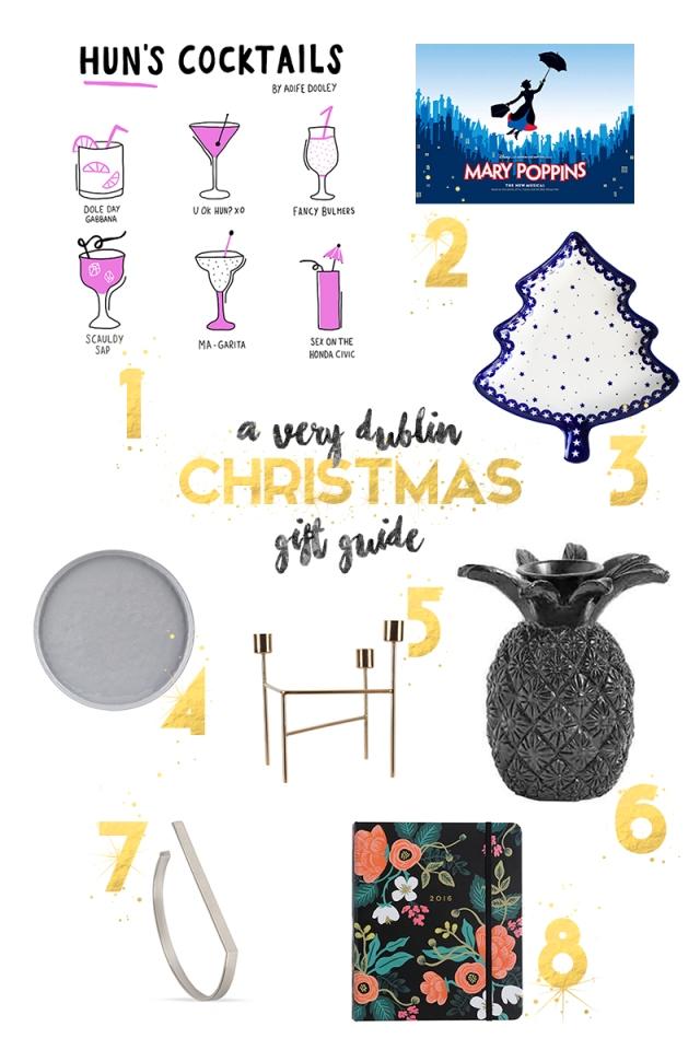 A Dubliner's Christmas Gift Guide