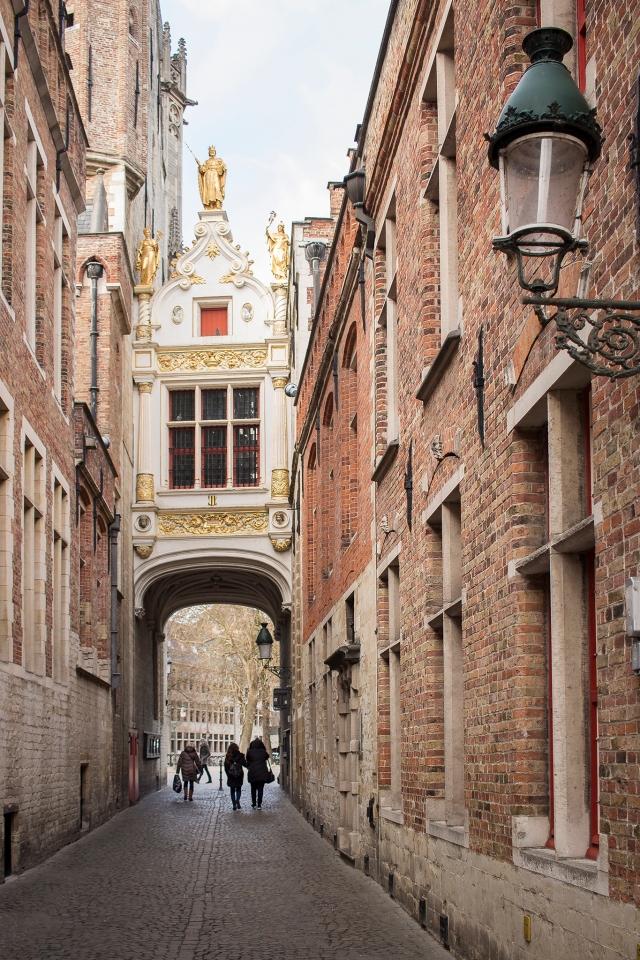 blinde ezelstraat bruges belgium