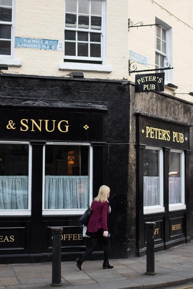 peter's pub dublin valentine's day