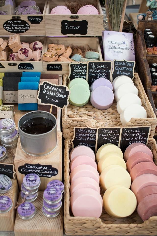 st george's market belfast soap mystiques enchantments